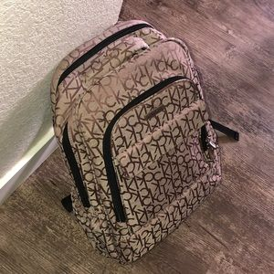 Calvin Klein men's designer backpack